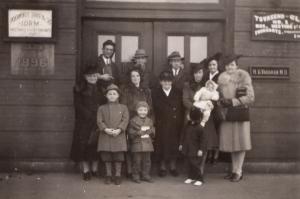 1935 GNBC launch at Bank Street, Attleboro
